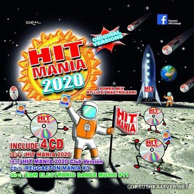 Hit Mania 2020 [2019] / 4xCD / Mixed by Mauro Miclini