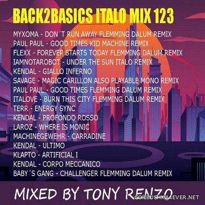 Back2Basics Italo Mix vol 123 [2020] by Tony Renzo