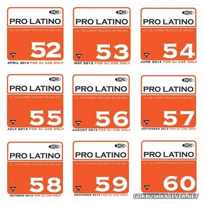 [DMC] Pro Latino vol 52 - vol 60 [2013]