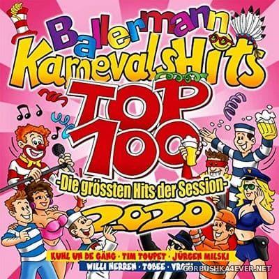 Ballermann Karnevals Hits Top 100 - Die Grössten Hits Der Session [2020] / 2xCD