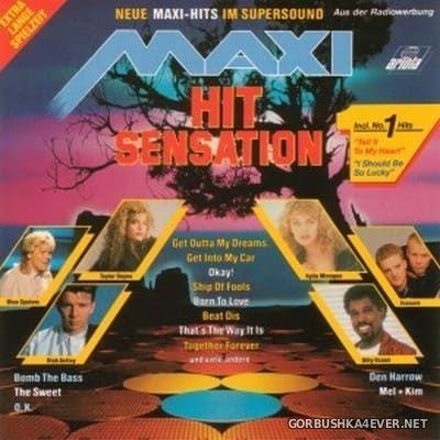 Maxi Hit Sensation - Neue Maxi-Hits Im Supersound [1988]
