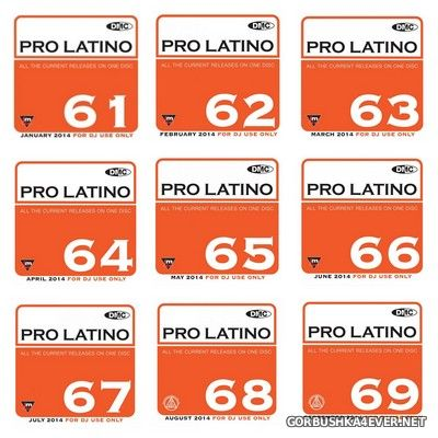 [DMC] Pro Latino vol 61 - vol 70 [2014]