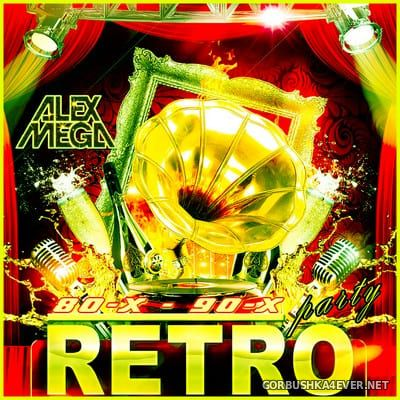 DJ Alex Mega - Retro Party 80х90 [2020]