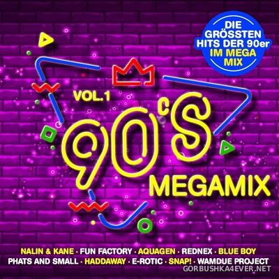 [Edel Records] 90's Megamix vol 1 [2020] / 2xCD
