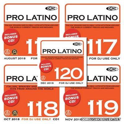 [DMC] Pro Latino vol 116 - vol 120 [2018]