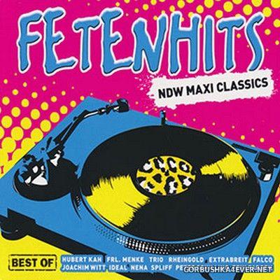 Fetenhits - NDW Maxi Classics (Best Of) [2020] / 3xCD