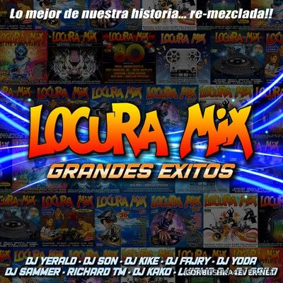 Locura Mix - Grandes Éxitos (Full Album) [2020] / 2xCD + Jingles & Efectos + Bonus Video Mixes