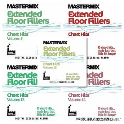 [Mastermix] Extended Floor Fillers - Chart Hits vol 11 - vol 15 [2012]