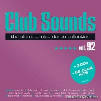 Club Sounds vol 92 [2020] / 3xCD
