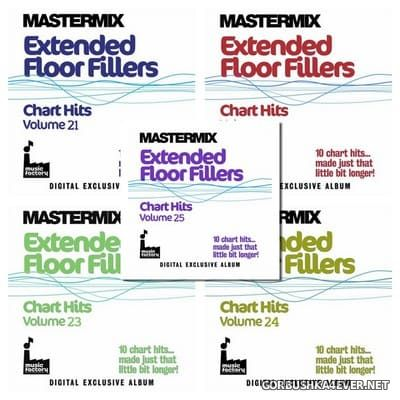 [Mastermix] Extended Floor Fillers - Chart Hits vol 21 - vol 25 [2013]
