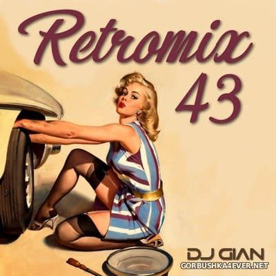DJ GIAN - RetroMix vol 43 [2020] 80s Salsa