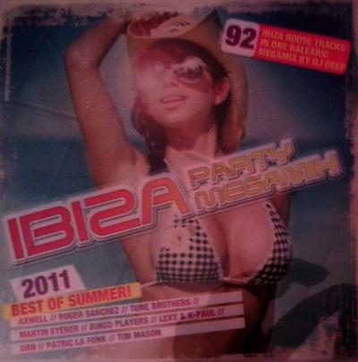 DJ Deep Ibiza Party Megamix: Best Of Summer 2011 / 2xCD
