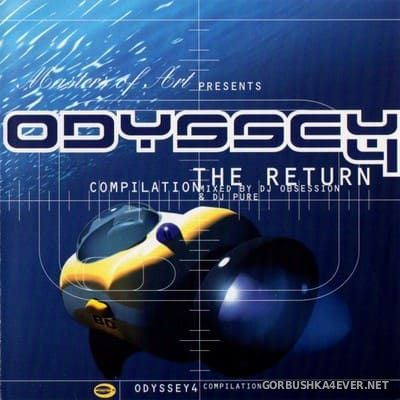 Masters Of Art presents Odyssey 4 - The Return [1997] / 2xCD / Mixed by DJ Obsession & DJ Pure