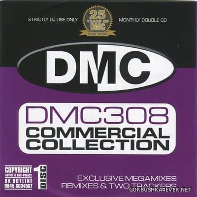 DMC Commercial Collection 308 [2008] / 2xCD