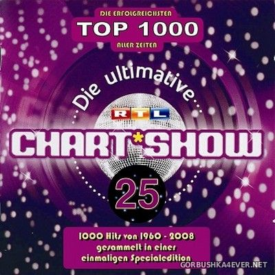 Die Ultimative Chartshow - Die Erfolgreichsten Top 1000 Aller Zeiten vol 21 - vol 25 [2009] / 10xCD