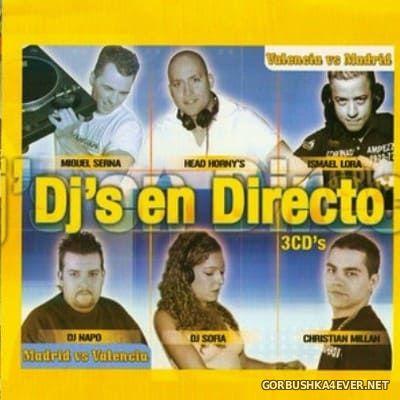 [Contraseña Records] DJ's En Directo - Valencia vs Madrid [2006] / 3xCD