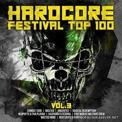 Hardcore Festival Top 100 vol 3 [2020] / 2xCD