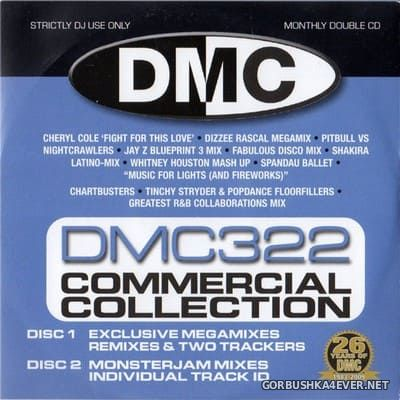 DMC Commercial Collection 322 [2009] / 2xCD