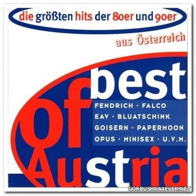 Best Of Austria - Die größten Hits der 80er und 90er aus Österreich [1997] / 2xCD