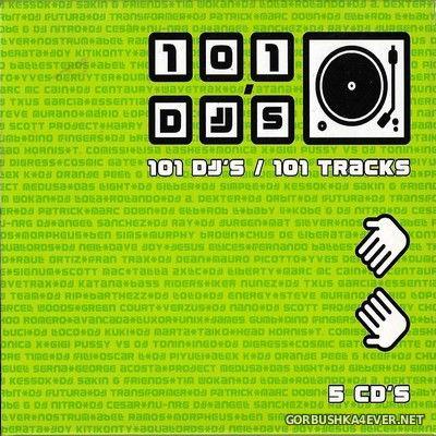 [New Records] 101 DJ's - 101 Tracks [2002] / 5xCD