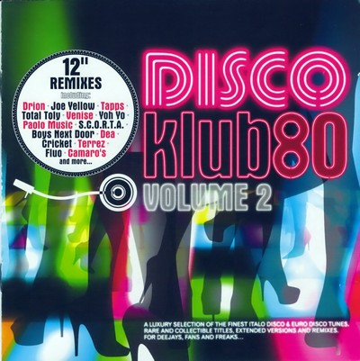 Disco Klub80 Volume 2 [2009] / 2xCD
