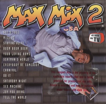 Max Mix U.S.A. Volume 2 [1996]