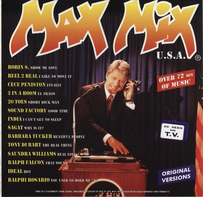 Max Mix U.S.A. Volume 1 [1995]