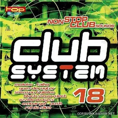 [EVA] Club System 18 [2001] Mixed by Sven Lanvin