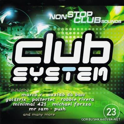 [EVA] Club System 23 [2002] Mixed by Sven Lanvin