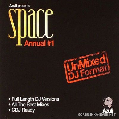[Azuli Records] Space Annual #1 (UnMixed DJ Format) [2006] / 2xCD