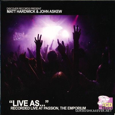 Live As... vol 1 [2006] / 2xCD / Mixed by Matt Hardwick & John Askew