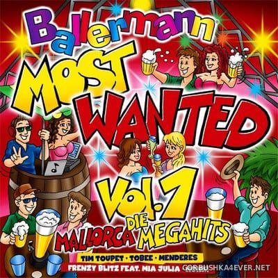Ballermann Most Wanted vol 1 (Die Mallorca Megahits) [2019]