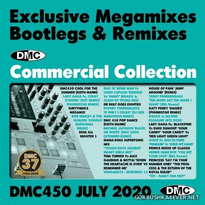DMC Commercial Collection 450 [2020] July / 3xCD