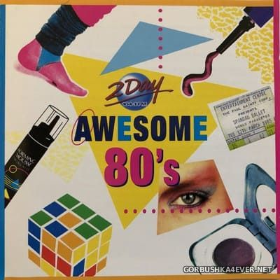 [Columbia] The Awesome 80's [1998] / 2xCD