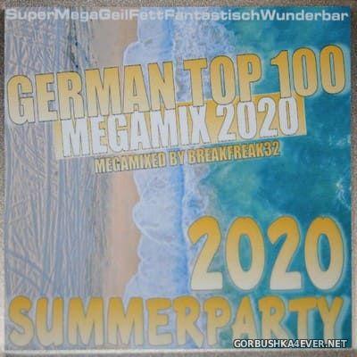 German Top 100 Summerparty 2020 [2020] Mixed By Breakfreak32