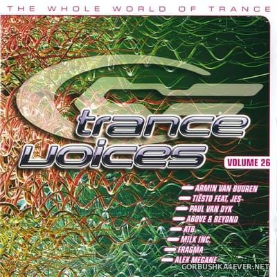 [Polystar] Trance Voices (The Greatest Vocal Trance Anthems) vol 26 [2008] / 2xCD