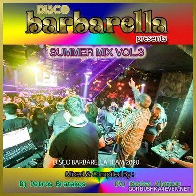 DJ Kosta & DJ Petros Bratakos - Disco Barbarella Summer Mix 3 [2020]