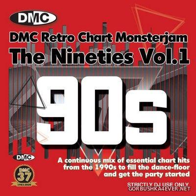 DMC Retro Chart Monsterjam - The Nineties vol 1 [2020] Mixed by Allstar