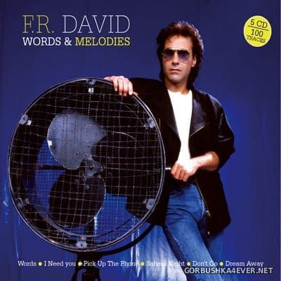 F.R. David - Words & Melodies [2020] / 5xCD / Limited Remastered Edition
