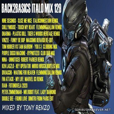 Back2Basics Italo Mix vol 129 [2020] by Tony Renzo