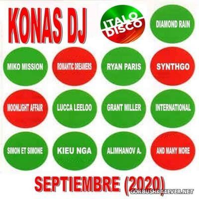 Konas DJ - Italo Septiembre Mix 2020