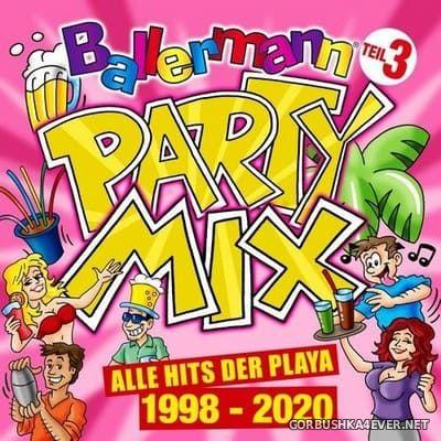 Ballermann Party Mix Teil 3 (Alle Hits der Playa 1998-2020) [2020]