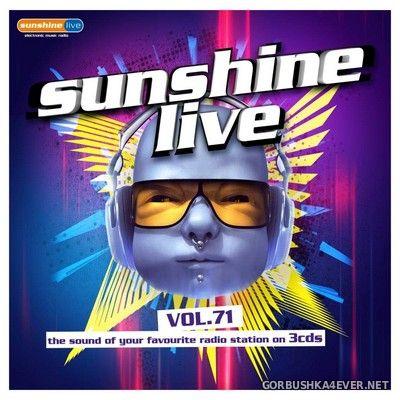 Sunshine Live vol 71 [2020] / 3xCD