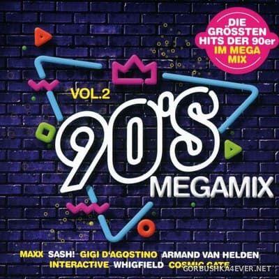 [Edel Records] 90's Megamix vol 2 [2020] / 2xCD