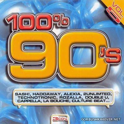 [Blanco Y Negro] 100% 90s (Lo Mejor Del Remember) vol 5 [2007] / 3xCD