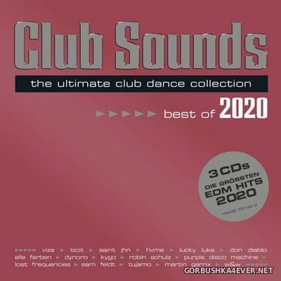 Club Sounds - Best Of 2020 [2020] / 3xCD