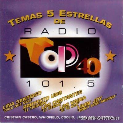 [MCA Records] Temas 5 Estrellas de Radio Top 40 101.5 [1996]