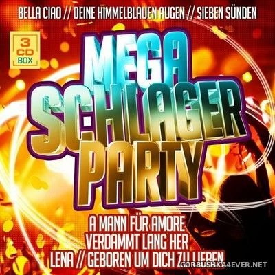 Mega Schlager Party [2020] / 3xCD