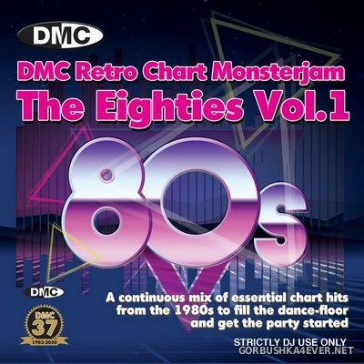 DMC Retro Chart Monsterjam - The Eighties vol 1 [2020] Mixed By Allstar