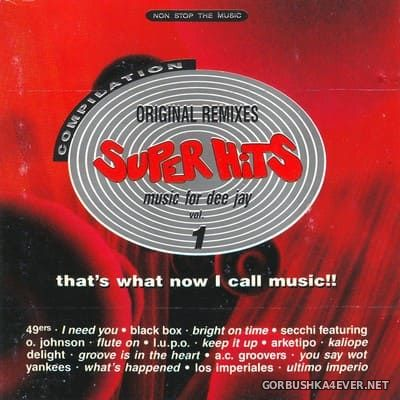 [Discomagic] Super Hits Compilation vol 1 [1991] Mixed by Ryan Facchinetti